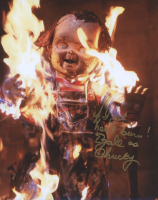 """Ed Gale Signed """"Child's Play"""" 8x10 Photo Inscribed """"If I got heart burn!"""" & """"as Chucky"""" (AutographCOA COA) at PristineAuction.com"""