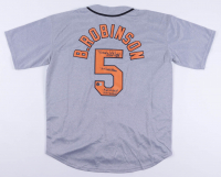 "Brooks Robinson Signed Orioles Jersey Inscribed ""HOF 1983"", ""16X Gold Glove"" ""1964 ALMVP"" & ""1970 WSMVP"" (Beckett COA) at PristineAuction.com"