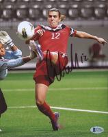 Christine Sinclair Signed Team Canada 8x10 Photo (Beckett COA) at PristineAuction.com