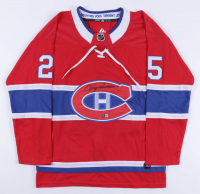Jacques Lemaire Signed Canadiens Jersey (Beckett COA) at PristineAuction.com