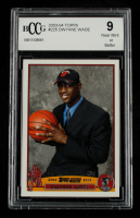 Dwyane Wade 2003-04 Topps #225 RC (BCCG 9) at PristineAuction.com