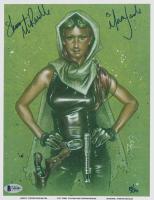 "Shannon McRandle Signed ""Star Wars"" 8.5x11 Print Inscribed ""Is Mara Jade"" (Beckett COA) at PristineAuction.com"