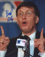 Bud Selig Signed 8x10 Photo (Beckett COA) at PristineAuction.com