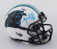 Luke Kuechly Signed Panthers Lunar Eclipse Alternate Speed Mini-Helmet (Beckett Hologram) at PristineAuction.com