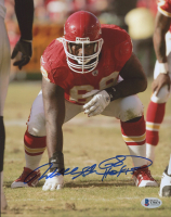 """Will Shields Signed Chiefs 8x10 Photo Inscribed """"HOF 15"""" (Beckett COA) at PristineAuction.com"""