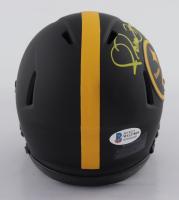 Jerome Bettis Signed Steelers Eclipse Alternate Speed Mini-Helmet (Beckett COA) at PristineAuction.com