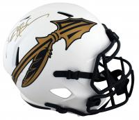 Deion Sanders Signed Florida State Seminoles Full-Size Lunar Eclipse Alternate Speed Helmet (Beckett Hologram) at PristineAuction.com
