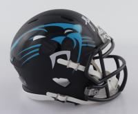 Luke Kuechly Signed Panthers AMP Alternate Speed Mini-Helmet (Beckett COA) at PristineAuction.com