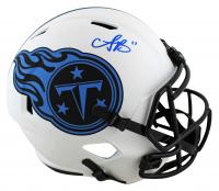 A. J. Brown Signed Titans Full-Size Lunar Eclipse Alternate Speed Helmet (Beckett Hologram) at PristineAuction.com