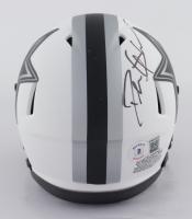 Deion Sanders Signed Cowboys Lunar Eclipse Alternate Speed Mini-Helmet (Beckett Hologram) at PristineAuction.com