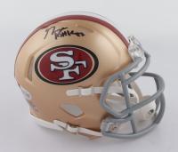 George Kittle Signed 49ers Speed Mini-Helmet (Beckett COA) at PristineAuction.com
