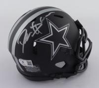 Deion Sanders Signed Cowboys Eclipse Alternate Speed Mini-Helmet (Beckett Hologram) at PristineAuction.com
