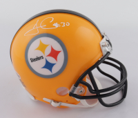 James Conner Signed Steelers Mini-Helmet (Beckett COA) at PristineAuction.com
