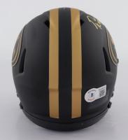 George Kittle Signed 49ers Eclipse Alternate Speed Mini-Helmet (Beckett Hologram) at PristineAuction.com