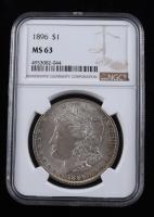 1896 Morgan Silver Dollar (NGC MS63) (Toned) at PristineAuction.com
