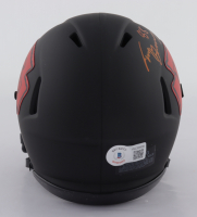 "Tony Gonzalez Signed Chiefs Eclipse Alternate Speed Mini-Helmet Inscribed ""HOF 19"" (Beckett Hologram) at PristineAuction.com"