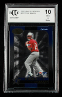Tom Brady 2000 Leaf Certified #207 RC #1,071/1,500 (BCCG 10) at PristineAuction.com