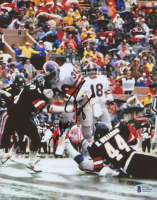 Mike Rozier Signed Oilers 8x10 Photo (Beckett COA) at PristineAuction.com