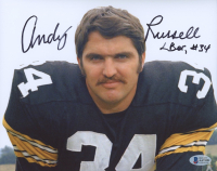 """Andy Russell Signed Steelers 8x10 Photo Inscribed """"LBer"""" (Beckett COA) at PristineAuction.com"""