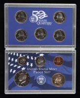 2000-S United States Mint 50 State Quarters Proof Set with (10) Coins & Original Packaging (See Description) at PristineAuction.com