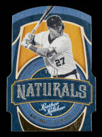 Mike Trout 2019 Panini Leather and Lumber Naturals #7 at PristineAuction.com