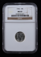 1942 Mercury Silver Dime (NGC MS65) at PristineAuction.com