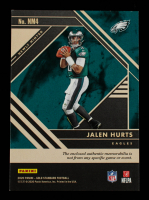 Jalen Hurts 2020 Panini Gold Standard Newly Minted Memorabilia #4 # 188 / 255 at PristineAuction.com