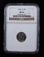 1942-D Mercury Silver Dime (NGC MS65) at PristineAuction.com