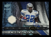 Emmitt Smith 2008 Upper Deck Icons NFL Chronology Jersey Silver #CHR28 at PristineAuction.com