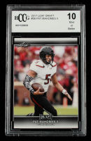 Pat Mahomes II 2017 Leaf Draft #56 (BCCG 10) at PristineAuction.com