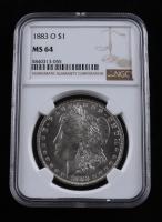 1883-O Morgan Silver Dollar (NGC MS64) at PristineAuction.com