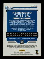 Fernando Tatis Jr. 2019 Donruss Optic The Rookies #13 at PristineAuction.com