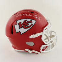 """Will Shields Signed Chiefs Full-Size Speed Helmet Inscribed """"HOF 15"""" (Schwartz Sports COA) at PristineAuction.com"""