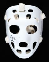 """Grant Fuhr Signed Full-Size Throwback Goalie Mask Inscribed """"HOF 03"""" (Schwartz COA) (See Description) at PristineAuction.com"""