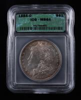 1884-O Morgan Silver Dollar (ICG MS64) (Toned) at PristineAuction.com