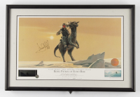 """Mark Hamill & Ralph McQuarrie Signed 12x18 Star Wars: The Empire Strikes Back Rebel Patrol of Echo Base LE Lithograph Inscribed """"97"""" (Beckett LOA) (See Description) at PristineAuction.com"""