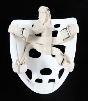 """Gerry Cheevers Signed Full-Size Throwback Hockey Mask Inscribed """"HOF 85"""" (Schwartz Sports COA) at PristineAuction.com"""
