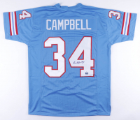 Earl Campbell Signed Jersey (JSA COA & Fiterman Sports Hologram) at PristineAuction.com