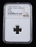 Charles VIII (1483-1498) France Karol Medieval Silver Coin (NGC VF25) at PristineAuction.com