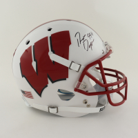 """Ron Dayne Signed Wisconsin Badgers Full-Size Helmet Inscribed """"99H"""" (Schwartz Sports COA) (See Description) at PristineAuction.com"""