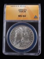 1899-O Morgan Silver Dollar, VAM-28 (ANACS MS64) at PristineAuction.com