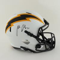 Austin Ekeler Signed Chargers Full-Size Lunar Eclipse Alternate Speed Helmet (Schwartz Sports Hologram) at PristineAuction.com