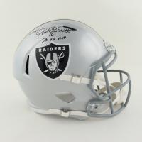 "Jim Plunkett Signed Raiders Full-Size Speed Helmet Inscribed ""SB XV MVP"" (Schwartz Sports COA) at PristineAuction.com"