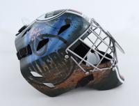 "Grant Fuhr Signed NHL Full-Size Hockey Goalie Mask Inscribed ""HOF 03"" (Schwartz Sports COA) at PristineAuction.com"