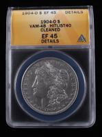 1904-O Morgan Silver Dollar, VAM-35 (ANACS MS63) at PristineAuction.com