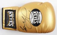 Floyd Mayweather Jr. Signed Cleto Reyes Boxing Glove (PSA Hologram) (See Description) at PristineAuction.com