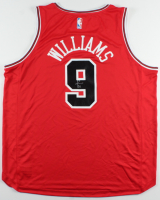 """Patrick Williams Signed Bulls Jersey (Beckett """"Rookie Year"""" COA) at PristineAuction.com"""