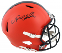 Nick Chubb Signed Browns Full-Size Speed Helmet (Beckett Hologram) at PristineAuction.com