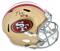 George Kittle Signed 49ers Full-Size Speed Helmet (Beckett Hologram) at PristineAuction.com
