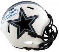 "Tony Dorsett Signed Cowboys Full-Size Lunar Eclipse Alternate Speed Helmet Inscribed ""HOF 94"" (Beckett Hologram) at PristineAuction.com"